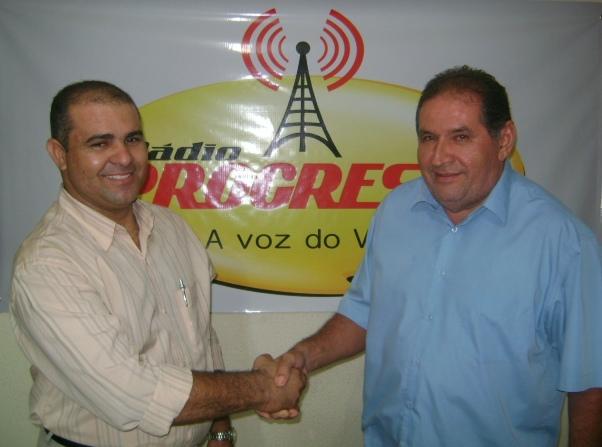 Jiannino Diangeles é o novo Comunicador da Rádio Progresso
