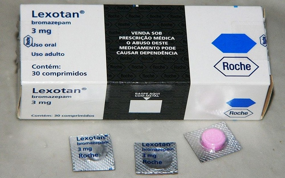 Anvisa suspende lote do medicamento Lexotan