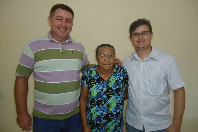 Ricardo Torres (Ex-presidente do PT), Helita Basilio e Helano Maia